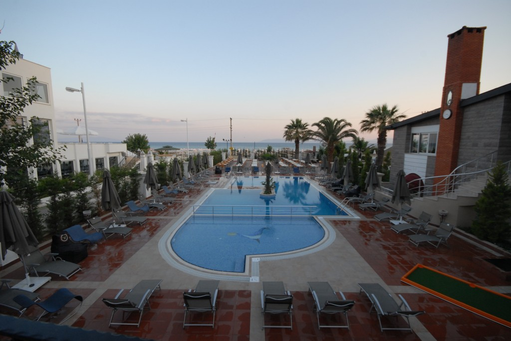 Letovanje Turska autobusom, Sarimsakli, Hotel Buyuk Berk,bazen izgled