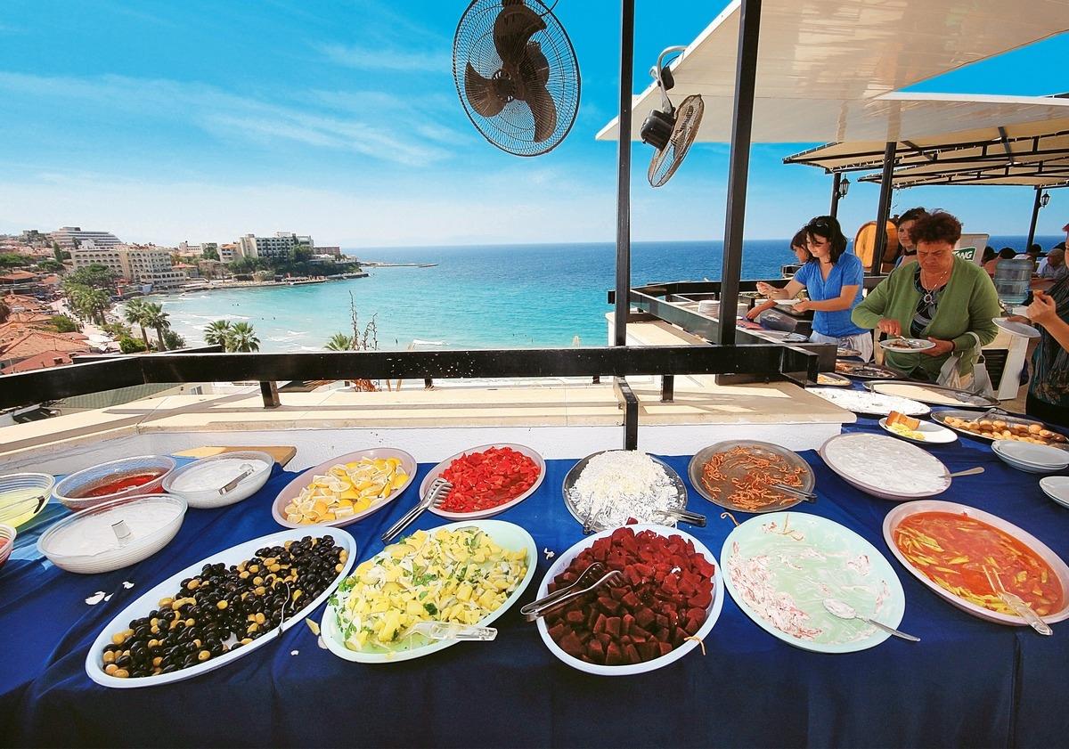 Letovanje Turska autobusom, Kusadasi, Hotel Asena,restoran