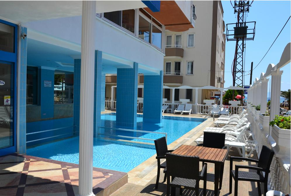 Letovanje Turska autobusom, Sarimsakli, Hotel Grand Milano,bazen u hotelu