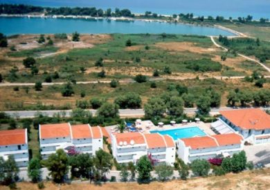 Grcka hoteli letovanje, Halkidiki, Pefkohori,Port Marina,eksterijer