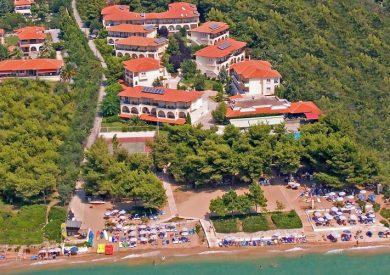 Grcka hoteli letovanje, Nea Potidea,Halkidiki,Portes Beach,eksterijer