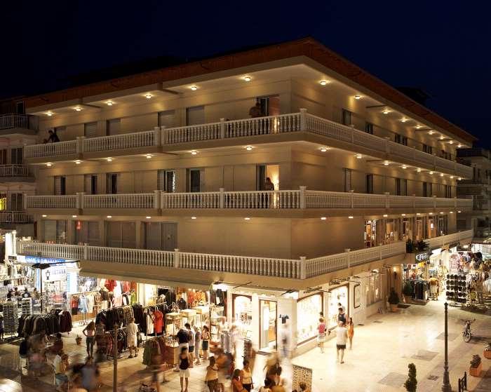 Grcka hoteli letovanje, Paralia,Regina Mare, spoljasnji izgled