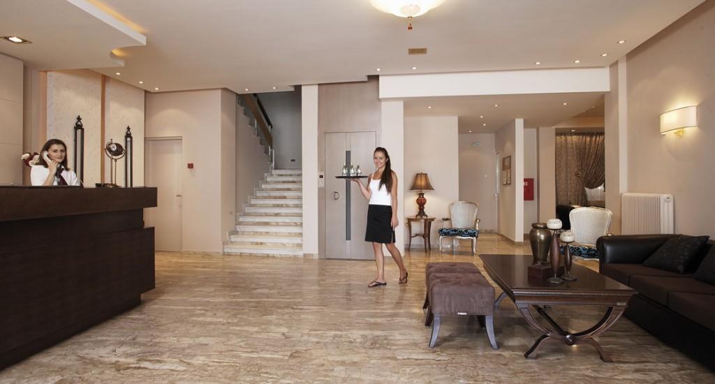 Grcka hoteli letovanje, Paralia,Regina Mare, recepcija