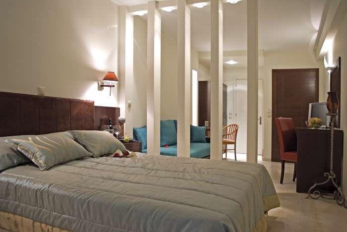 Grcka hoteli letovanje, Paralia,Regina Mare, spavaca soba