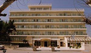 Grcka hoteli letovanje, Agia Triada, Wellness Santa old building,spolja