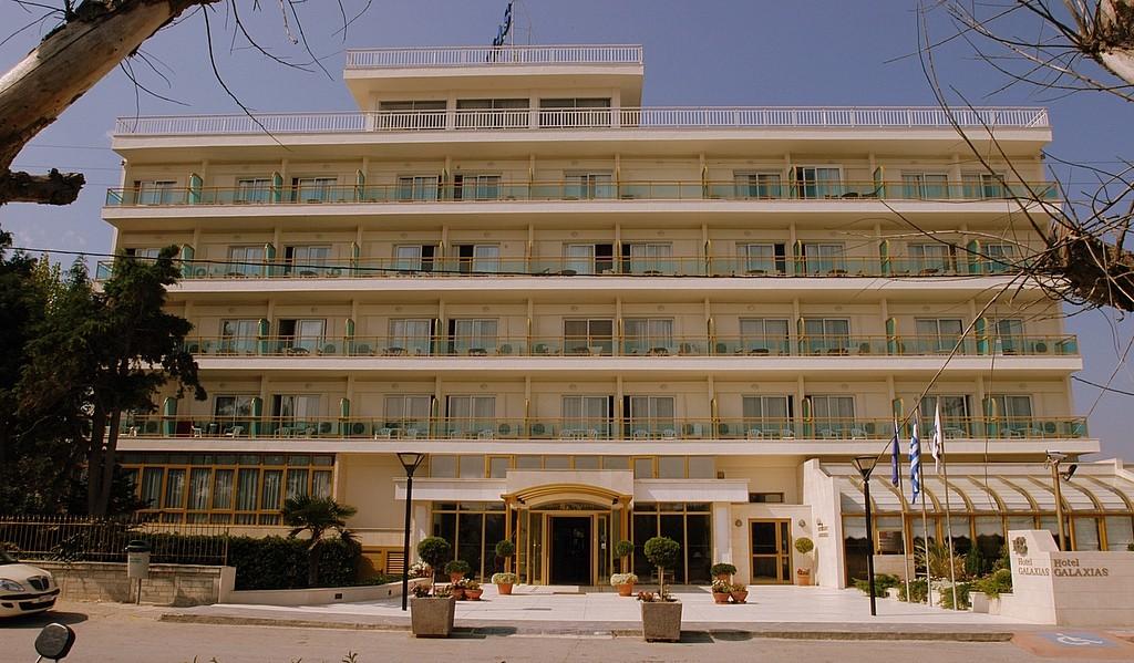 Grcka hoteli letovanje, Santa Wellness, zgrada