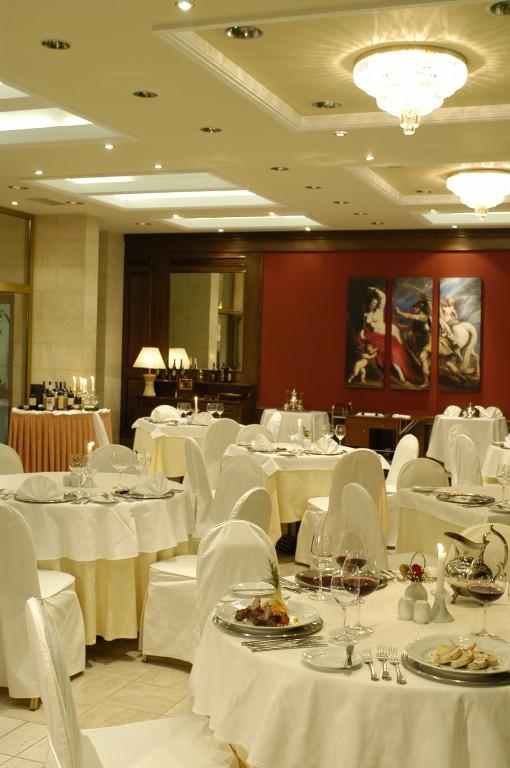 Grcka hoteli letovanje, Santa Wellness, restoran