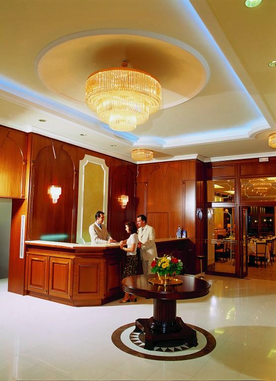 Grcka hoteli letovanje, Santa Wellness, recepcija