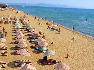 Letovanje Turska autobusom, Sarimsakli, Hotel Sezer,plaža