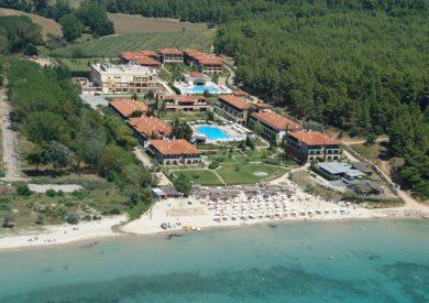 Grcka hoteli letovanje, Halkidiki, Sani,Simantro Beach,panorama