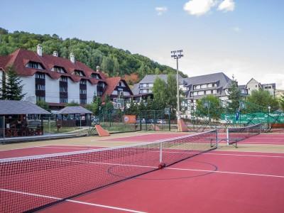 Kopaonik, zimovanje, smeštaj, Apart Hotel Kopaonik, teniski teren