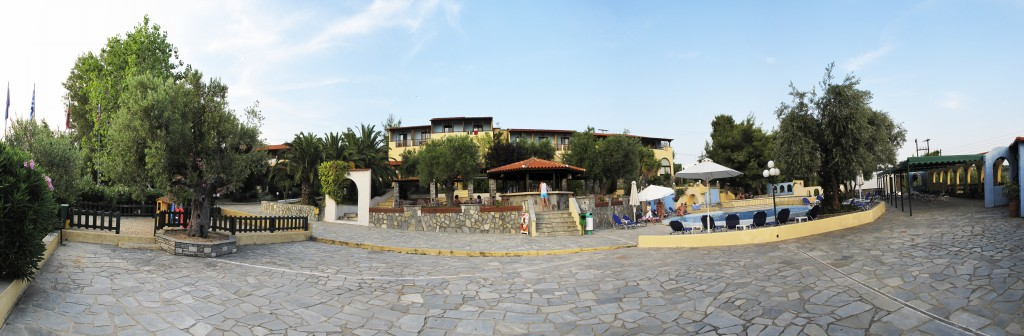 Grcka hoteli letovanje, Halkidiki, Elia Beach,Acrotel Elea Beach,eksterijer