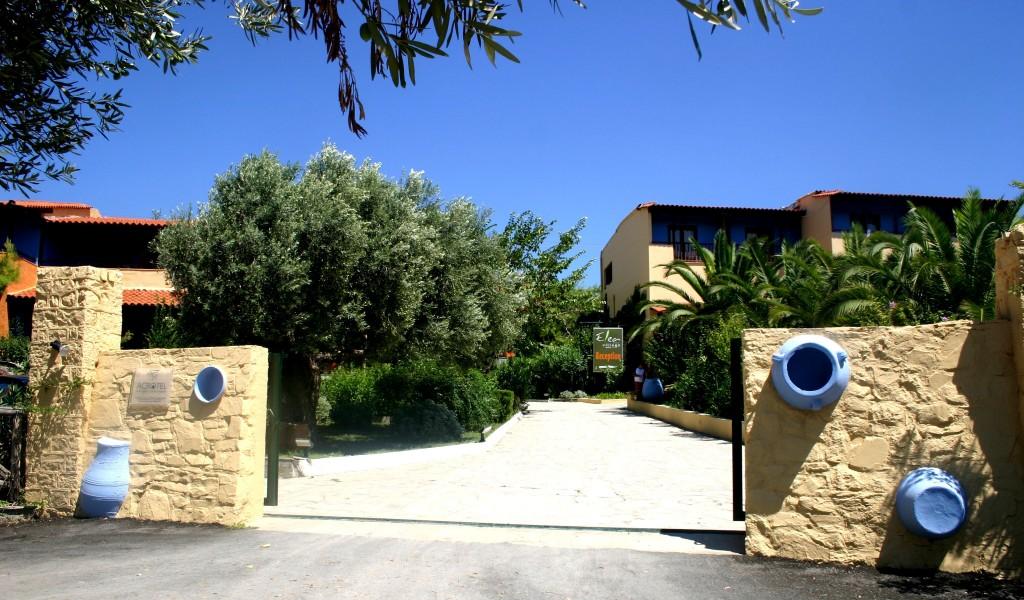 Grcka hoteli letovanje, Halkidiki, Elia Beach,Acrotel Elea Beach,ulaz