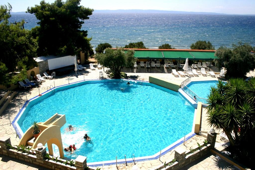 Grcka hoteli letovanje, Halkidiki, Elia Beach,Acrotel Elea Beach,bazen sa dečijim delom