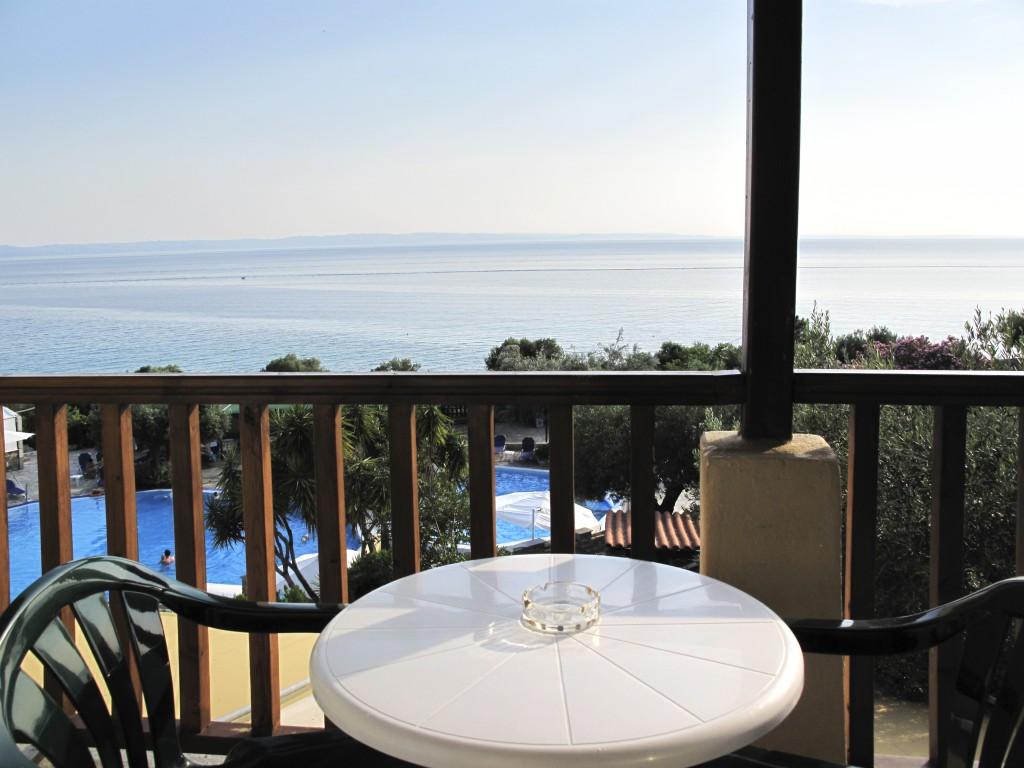 Grcka hoteli letovanje, Halkidiki, Elia Beach,Acrotel Elea Beach,terasa