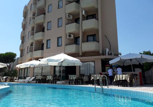 Letovanje Turska autobusom, Sarimsakli, Hotel Urgenc,pogled sa bazena