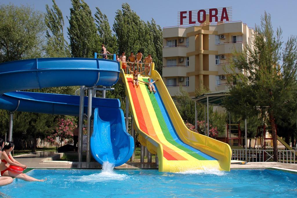 Letovanje Turska autobusom, Kusadasi, Hotel Flora family suites,bazen sa toboganom