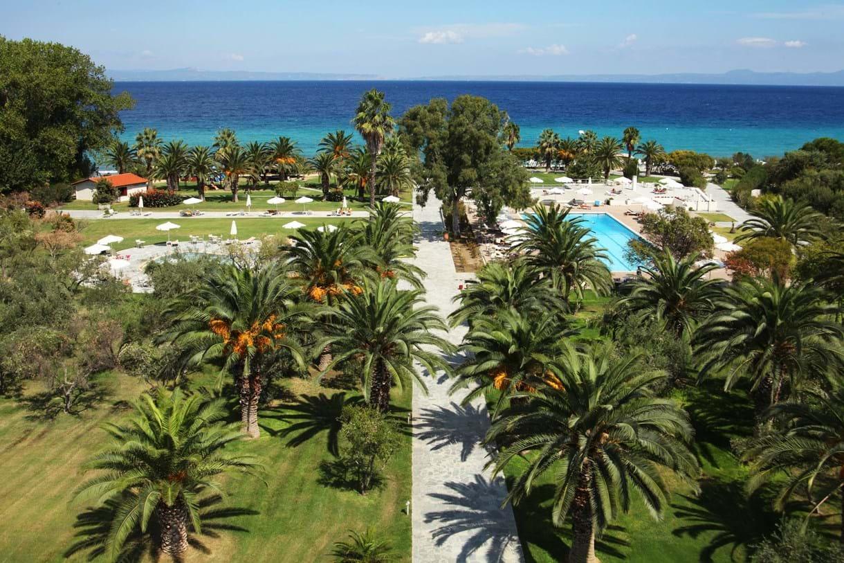Grcka hoteli letovanje, Kriopigi,Halkidiki,Kassandra  Palace,izlaz na plažu