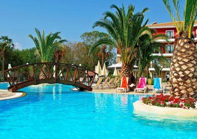 Grcka hoteli letovanje, Paralia, Mediterranean Princess, bazen