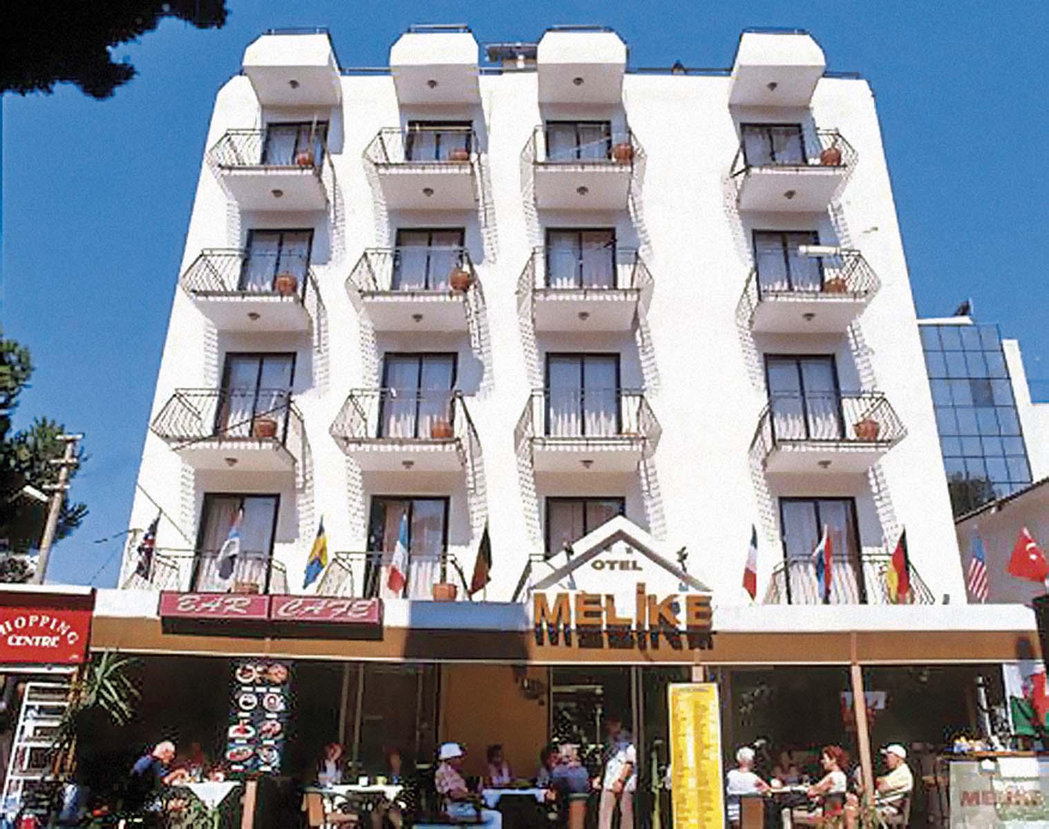 Letovanje Turska autobusom, Kusadasi, Hotel Melike,spolja