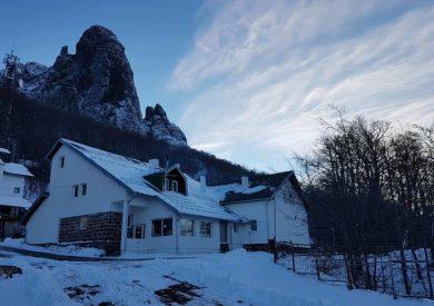 Stara planina, zimovanje, smeštaj, planinarski dom Midžor, eksterijer