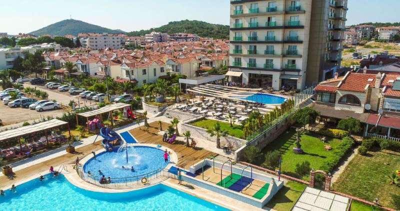 Letovanje Turska autobusom, Sarimsakli, Hotel Musho,spoljašnji izgled