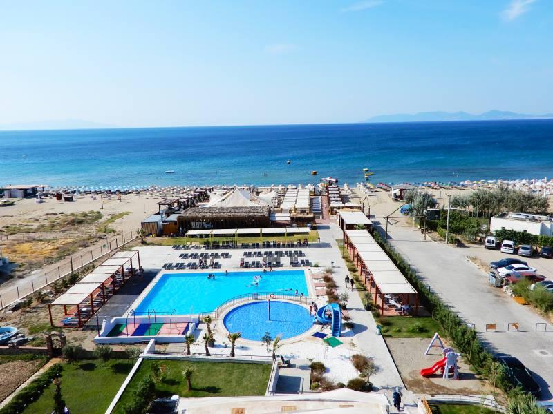 Letovanje Turska autobusom, Sarimsakli, Hotel Musho,pogled na plažu