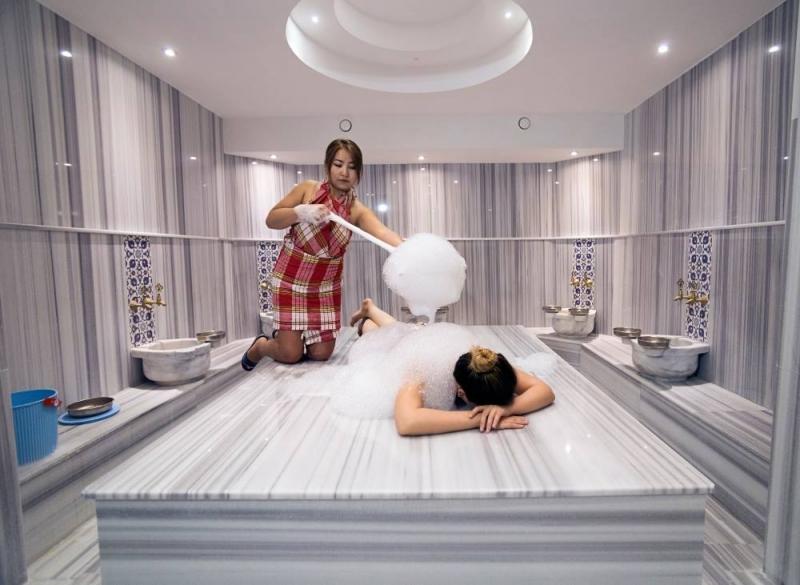 Letovanje Turska autobusom, Sarimsakli, Hotel Musho,tursko kupatilo
