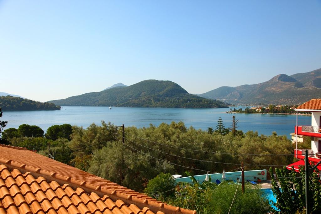 Grcka hoteli letovanje, Lefkada, Perigiali, Hotel Nostos, panorama
