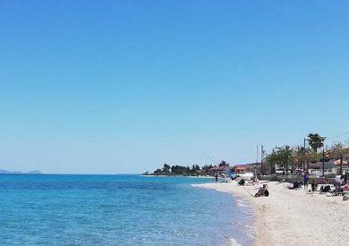 Letovanje Polihrono apartmani - Halkidiki - Grčka , plaža Polihrono