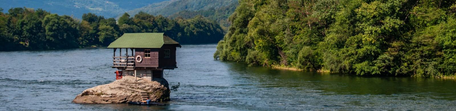 jezera i reke srbije, odmor Srbija, Drina, Srebrno jezero, Palić, Dunav