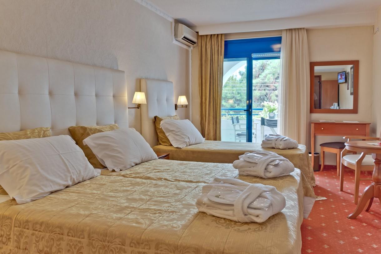 Grcka hoteli letovanje, Halkidiki, Nea Kalikratija,Secret Paradise&Spa,izgled sobe