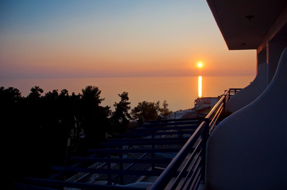 Grcka hoteli letovanje, Halkidiki, Nea Kalikratija,Secret Paradise&Spa,zalazak sunca