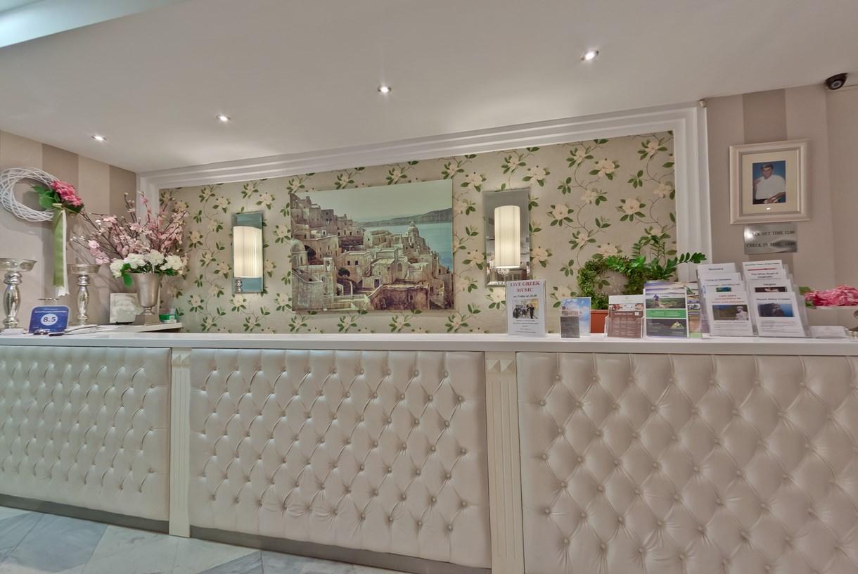 Grcka hoteli letovanje, Halkidiki, Nea Kalikratija,Secret Paradise&Spa,recepcija