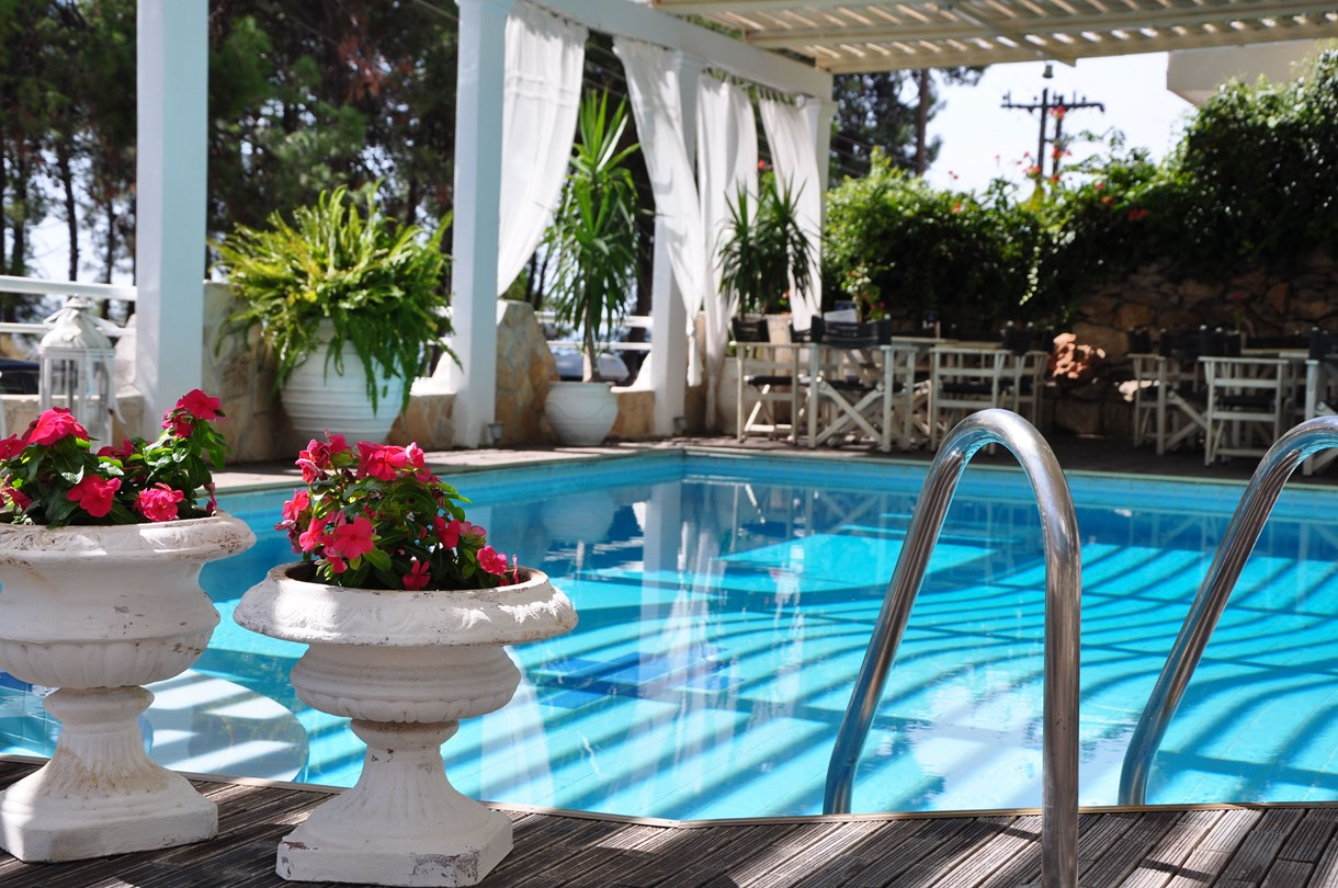 Grcka hoteli letovanje, Halkidiki, Nea Kalikratija,Secret Paradise&Spa,bazen