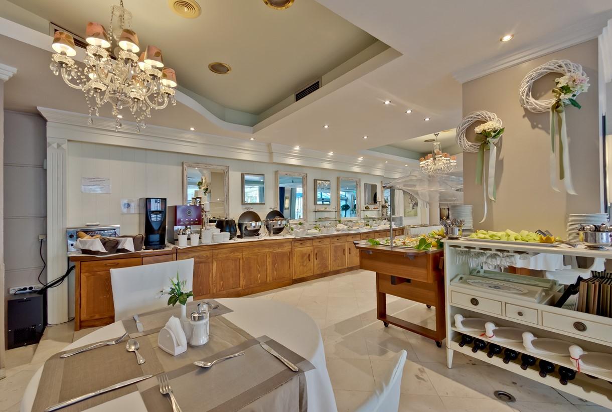 Grcka hoteli letovanje, Halkidiki, Nea Kalikratija,Secret Paradise&Spa,restoran hotela