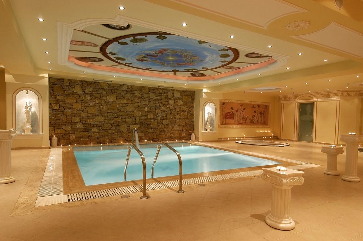 Grcka hoteli letovanje, Halkidiki, Nea Kalikratija,Secret Paradise&Spa,zatvoreni bazen