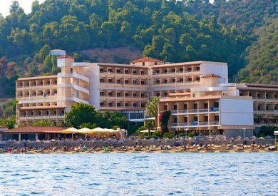 Grcka hoteli letovanje, Skiatos, Esperides Hotel,eksterijer