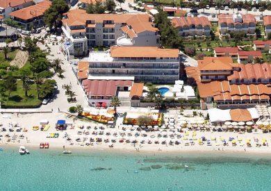 Grcka hoteli letovanje, Halkidiki,  Hanioti Grand Hotel eksterijer