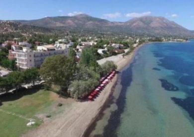 Grcka hoteli letovanje, Evia, Eviana , Beach resort,eksterijer