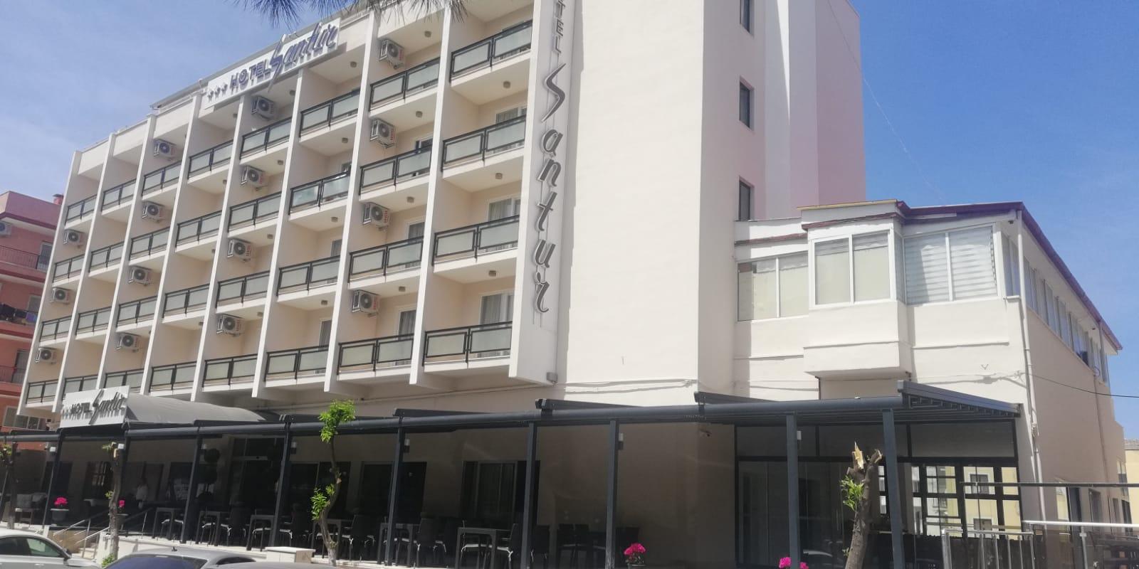 Letovanje Turska autobusom, Kusadasi, Hotel Santur,spolja