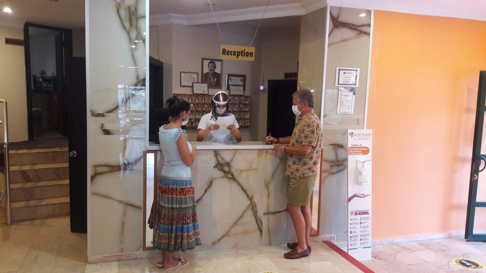 Letovanje Turska autobusom, Sarimsakli, Hotel Urgenc,recepcija