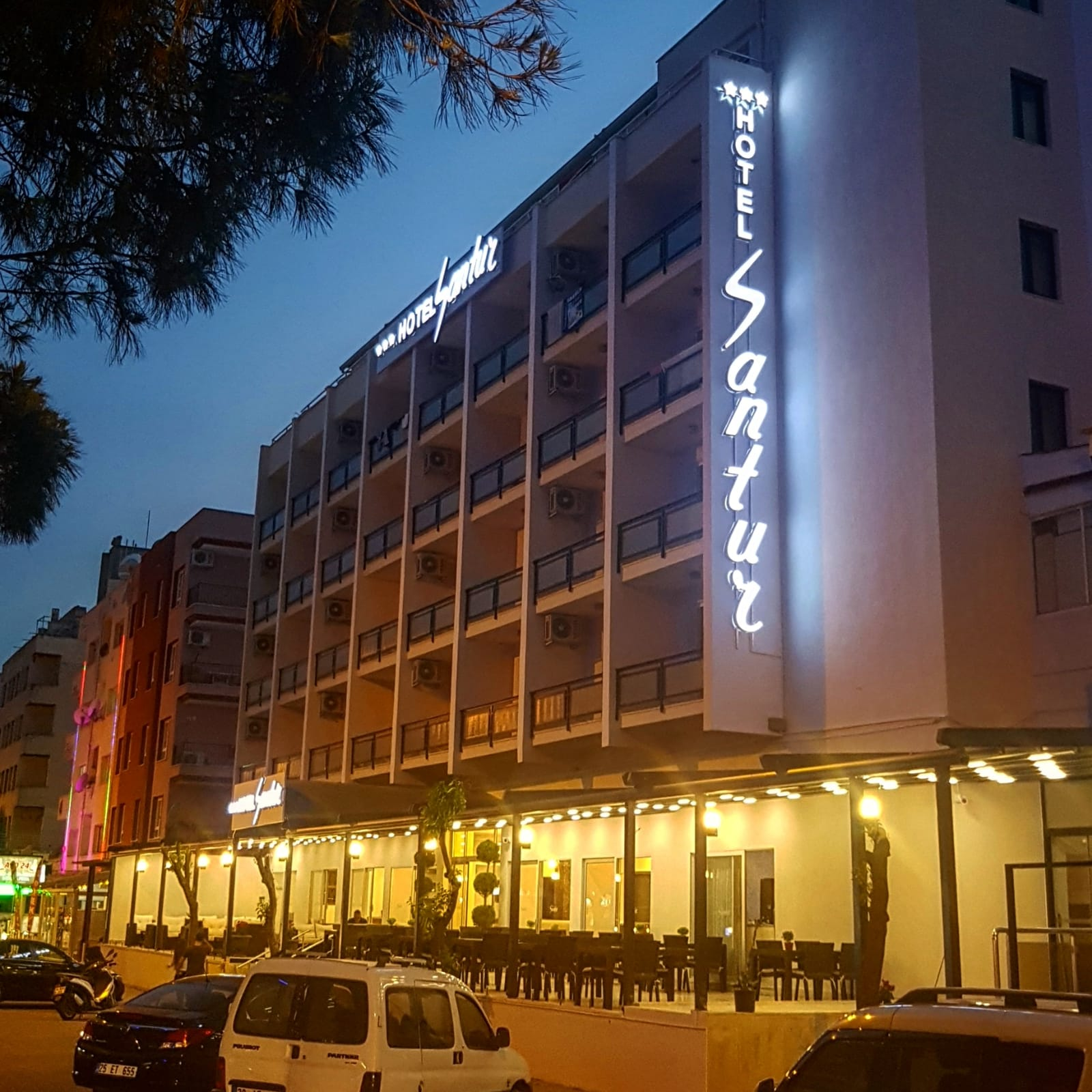 Letovanje Turska autobusom, Kusadasi, Hotel Santur,eksterijer
