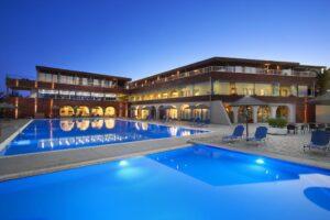 Grcka hoteli letovanje, Halkidiki,Metamorfosi,Blue Dolphin,eksterijer