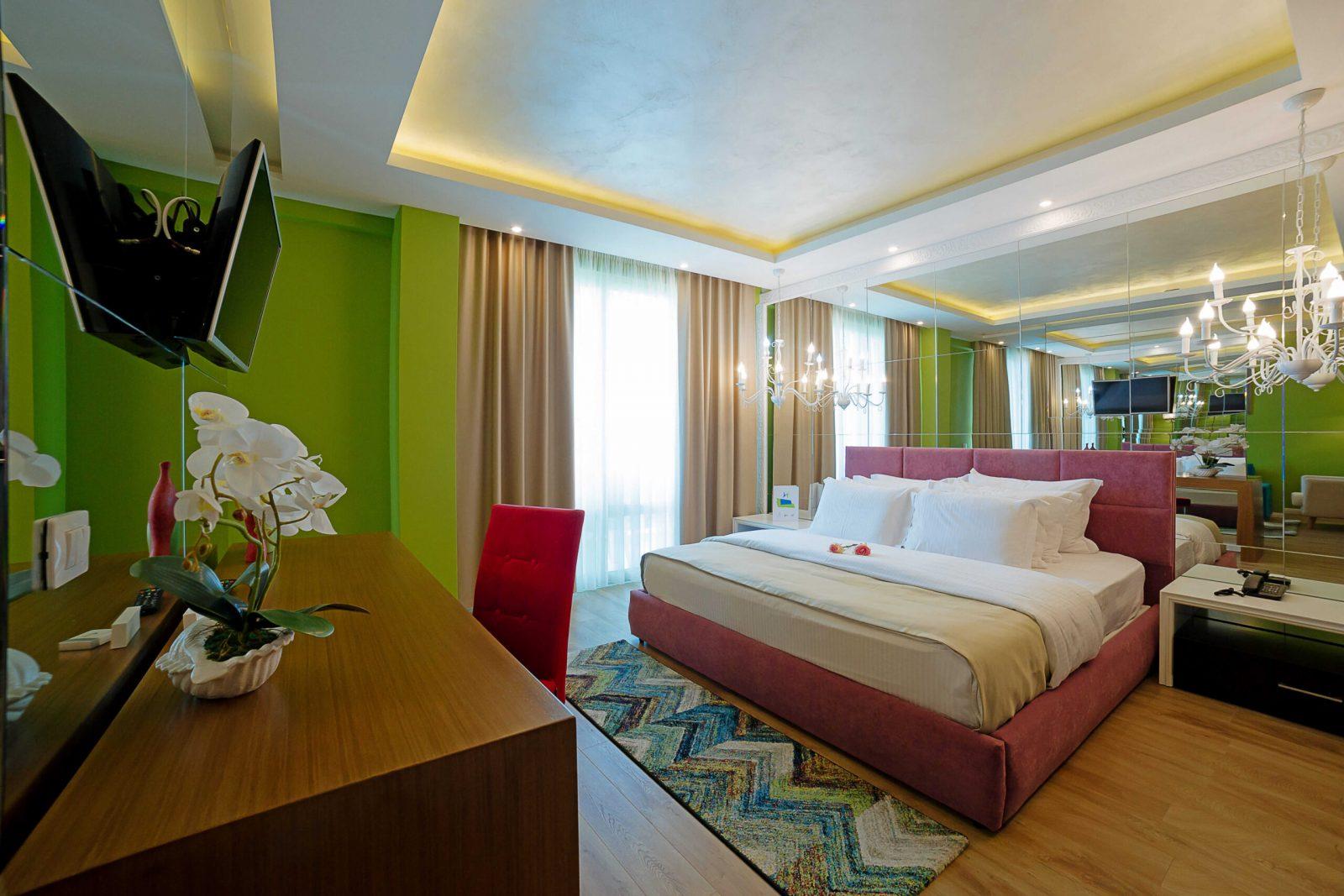 Letovanje Albanija autobusom, Drač, Hotel Albanian Star, soba sa francuskim ležajem