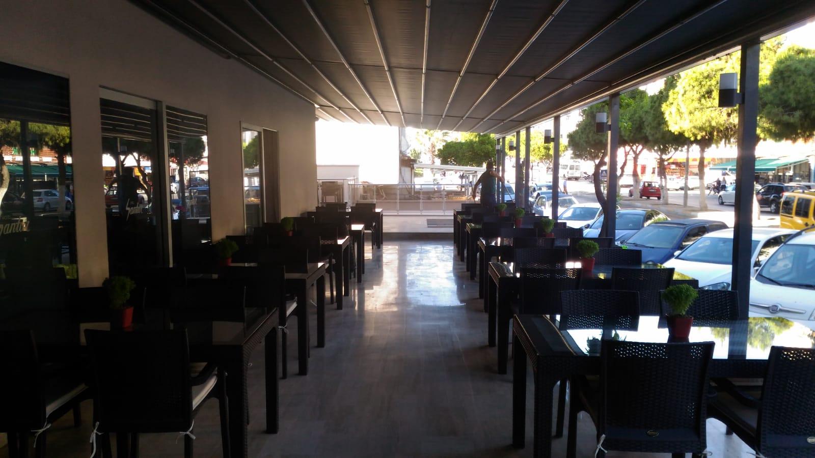 Letovanje Turska autobusom, Kusadasi, Hotel  Roxx Royal Santur,hotelski restoran sspolja