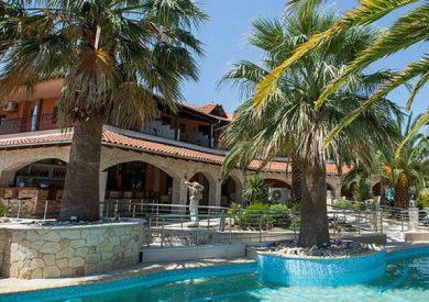 Grcka hoteli letovanje, Pefkohori,Halkidiki,Anna Maria Paradise,eksterijer