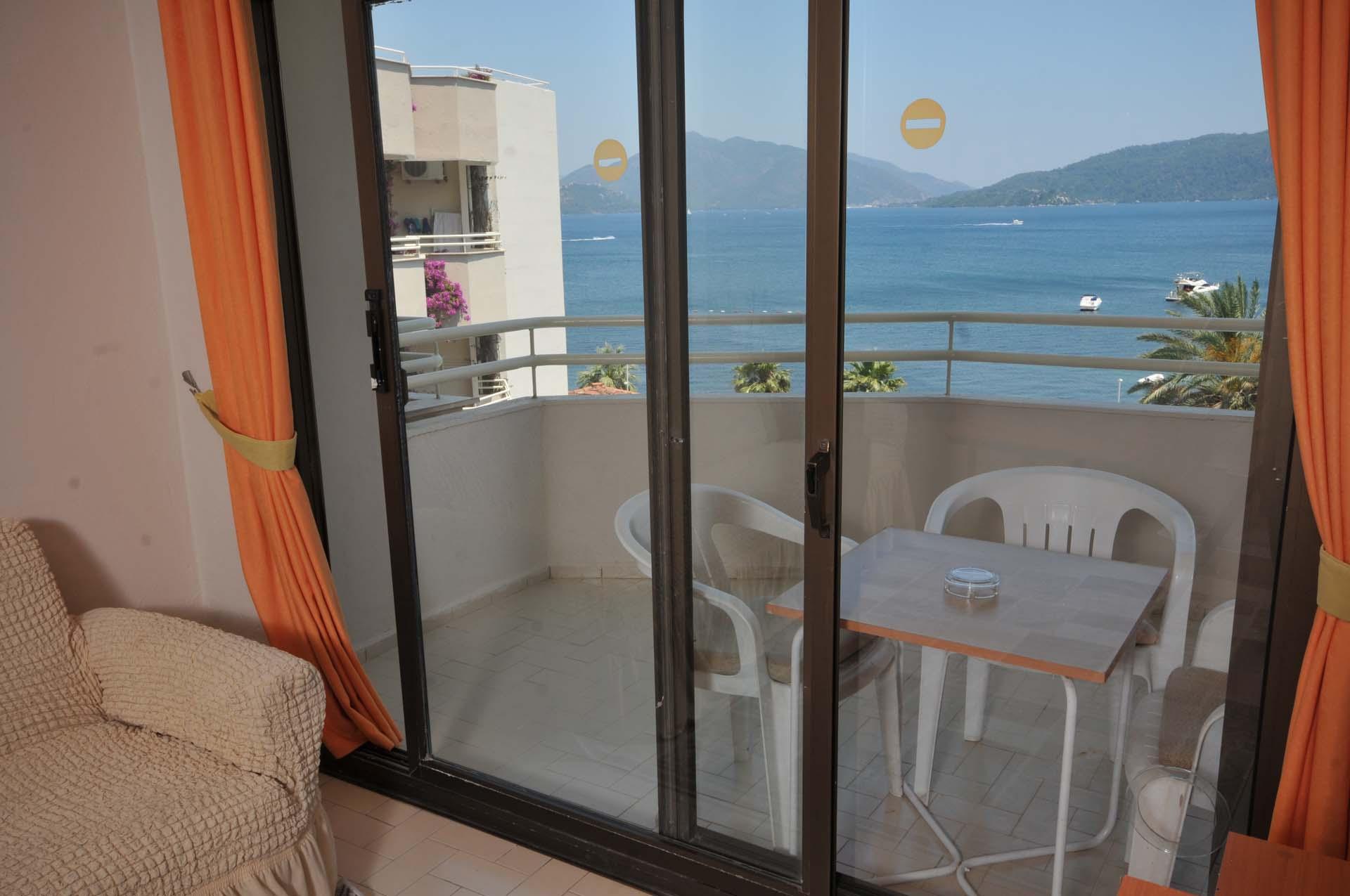 Letovanje Turska autobusom, Marmaris,Hotel Amos Marmaris balkon