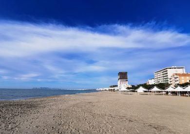 Letovanje Albanija autobusom, Drač plaža u jesen