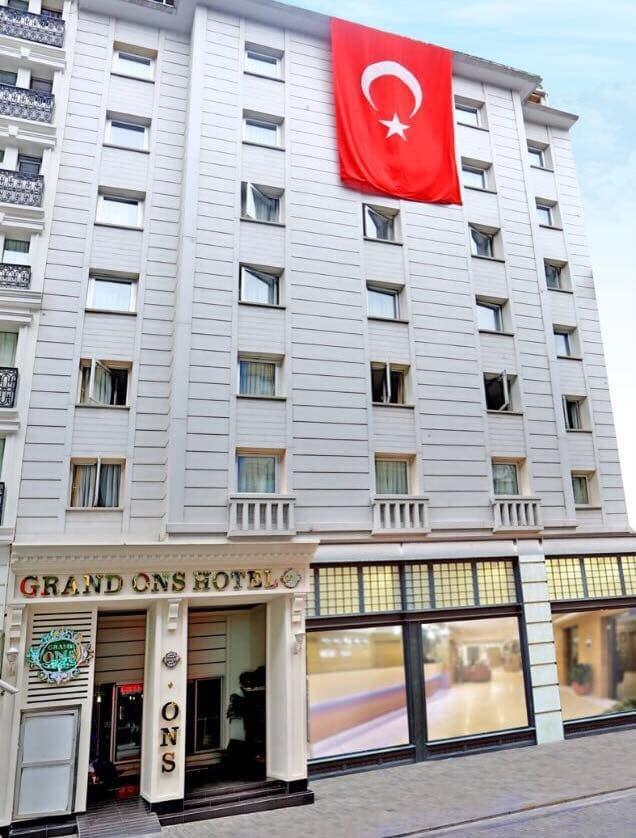 Putovanje Istanbul, evropski gradovi, hotel Grand Ons,eksterijer